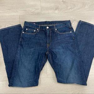Bonobos Blue Ridge Dark Wash Jeans